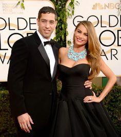 Celeb Diary: Sofia Vergara @ 2014 Golden Globe Awards