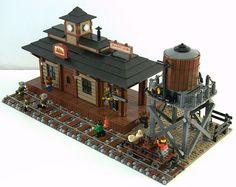 Train Station - Lego
