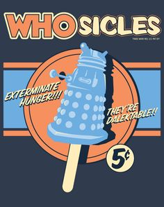 """Whosicle"" – Dr. Who T-Shirt by Moreguinness · Indie Crafts"