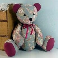 Image result for Hospice Memory Bear Pattern
