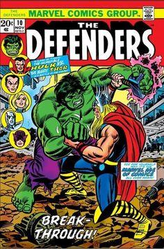 Defenders Vol 1 10 Marvel Comics Superheroes, Star Comics, Marvel Heroes, Marvel Characters, Marvel Vs, Comic Book Pages, Comic Book Artists, Comic Book Covers, Comic Books Art