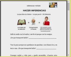 Logopedia en especial: Inferencias verbales y absurdos verbales Becoming A Teacher, Behaviour Chart, Reading Strategies, Anchor Charts, Speech Therapy, How To Become, Homeschool, Language, Classroom