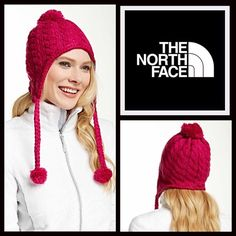 North Face Pom Pom Beanie North Face Pom Pom Beanie Hat NEW WITH TAGS  RETAIL PRICE: $65   * Super soft knit construction  * Contrasting pom pom accent & earflaps with drawstrings  * Textured detail  * One size fits most; pull on style  Fabric: 100% Acrylic; Lined in Polyester-elastane blend Color:  Item:  No Trades ✅ Offers Considered*/Bundle Discounts✅  *Please use the blue 'offer' button to submit an offer. North Face Accessories Hats