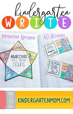 This notebook provides 60 weekly activities (2 per week) where students cut out and assemble a mini-booklet and paste it into the next available page. Each mini-booklet contains new information covering key Language Arts standards for Kindergarten.