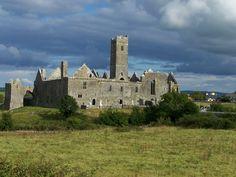 ennis ireland | Quin Abbey, just east of Ennis, Ireland