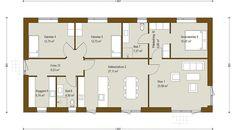 Længehus 144 m² - se plantegning og få inspiration til nyt hus