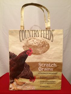 Hey, I found this really awesome Etsy listing at https://www.etsy.com/listing/214755428/recycled-repurposed-country-feeds