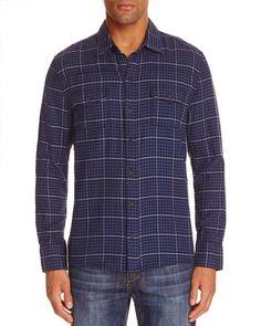179.00$  Watch now - http://vivsj.justgood.pw/vig/item.php?t=4pckab46848 - PAIGE Everett Plaid Flannel Regular Fit Button-Down Shirt 179.00$