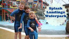 Splash Landings Waterpark fun!