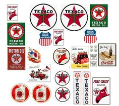 Texaco Station Signs - myLargescale.com > Community > Forums