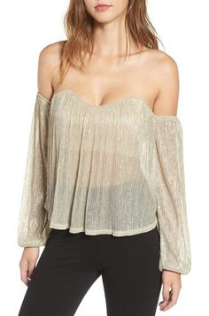 a47e0bcfd885d2 Whistles Bibi Cold Shoulder Top