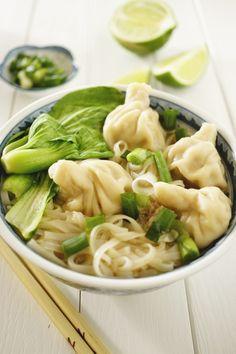 Thai Shrimp Dumpling Noodles