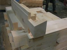 False Dovetail Corners used with Log Siding