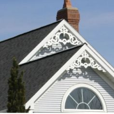 1000 images about gable obsession for this old house for Victorian gable decorations