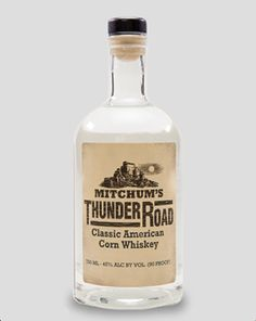 Here's one of our favorite offerings: Mitchum's #ThunderRoad Classic American #CornWhiskey. Inspired by the Mountain Boy himself, Mitchum's Thunder Road is a 90 proof classic American Corn Whiskey. To craft a spirit worthy of stardom, our master distiller Dwight Bearden worked directly with Jim Mitchum to create a distinct character and bold flavor worthy of the Mitchum name.  #Whiskey #Moonshine #WhiskeyRunnersSpirit #foodporn