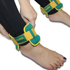 Nayoya 3 Pound Adjustable Ankle Weights Set with Carry Pouch  Set of two, 1.5 lb cuffs help strengthen and tone ankle/wrist muscles while improving movement. Great for seniors, kids and adultsEASY TO ADJUST: A ring closure and adjustable strap effortlessly adjusts to desired fitCOMFORTABLE TO WEAR: Securely fastens to provide comfort for walks, aerobics, and resistance training  http://outdoorgear.mobi/product/nayoya-3-pound-adjustable-ankle-weights-set-with-carry-pouch/