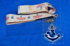 DVC Disney Vacation Club Member Cruise 2014 Lanyard Anchor NIP #DisneyCruiseLine