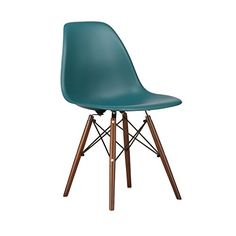 Poly and Bark Eames Style Molded Plastic Dowel-Leg Side Chair, Teal, Set of 2 Poly and Bark http://www.amazon.com/dp/B00Q6QJGQ6/ref=cm_sw_r_pi_dp_OUzovb0PNC2X5
