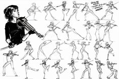Gesture Studies - Lindsey Stirling - 'Shadows' by joshmauser
