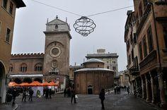 Piazza delle Erbe, Erbe Square - Mantova - Italy, Italia