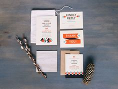 Bohemian Wedding Invitation Suite | Full Suite Photo