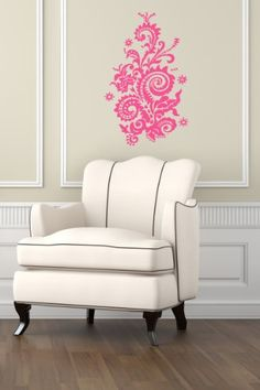 Housewares Wall Vinyl Decal Floral Pattern Ornament Home Art Decor Kids Nursery Removable Stylish Sticker Mural Unique Design for Any Room Decal House http://www.amazon.com/dp/B00H7ZIEQI/ref=cm_sw_r_pi_dp_ElXUtb03F3PJVXPR