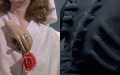 Hand Brooch and Skeleton Dress by Elsa Schiaparelli and Salvador Dalí
