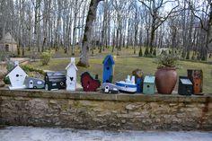 Collection handmade Wooden Birdhouses - Birdhouses. Handmade By Cor van de Velde Petite Maison Daglan
