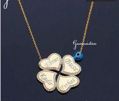 Personalized handmade jewelry by Alpdesignn Name Necklace, Pendant Necklace, Personalized Necklace, Etsy Seller, Handmade Jewelry, Handmade Jewellery, Jewellery Making, Diy Jewelry, Drop Necklace