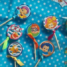 Toppers. Tema: Bubble Guppies.