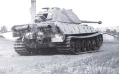 German King Tiger II. With a Porsche turret and also Porsche road wheels, common of early production units.