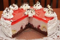 Svieža ovocná torta