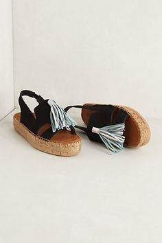 { espadrilles }...do I like these or are these horrible I don't understand