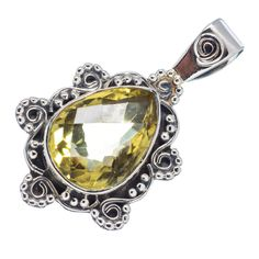 #Awesome 925 Sterling Silver #Handmaded #Lemon #Quartz #Gemstone #Pendant for #Women & #Man Jewelry #We #deals in all types of #jewelry #Tribal, #Fashion #Jewelry #Fine #Jewelry #Handcrafted #Artisan #Jewelry #Jewelry #Design & #Repair #Men's #Jewelry #Vintage & like #Children's Jewelry #Engagement & #Wedding #Ethnic, #Regional & #Antique #Jewelry #Wholesale Lots so please ask us if you have any #enquiry