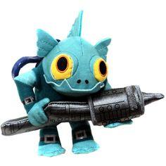 Skylanders Giants BAG CLIP - Gill Grunt -- Read more reviews of the product by visiting the link on the image. (This is an affiliate link) #ActionFiguresStatues