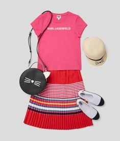 KARL LAGERFELD KIDS SS 2020 Karl Lagerfeld Kids, Ss, Style, Fashion, Swag, Moda, Fashion Styles, Fashion Illustrations, Outfits