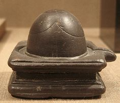 The many shapes and sizes of the Shiva Linga at the Metropolitan Museum of Art. See more here.