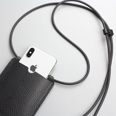 Jul 12, 2020 - This elegant and very practical phone case. This is an extremely convenient model for trips and walks. It is perfect for any style and protects your phone from scratches and other damage. And your hands are free and you don't need to search for a phone in your bag for a long time! Phone case - the Iphone 8, Iphone Cases, Leather Diy Crafts, Leather Craft, Minion, Parfait, Little Backpacks, Iphone Leather Case, Mini Purse