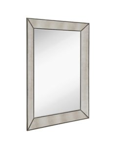 Antique Silver with Antique Mirror Panels