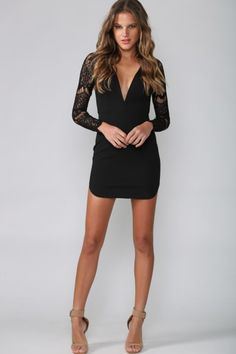 Secrets Dress Black