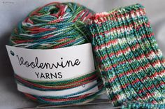 """Day 10 of #25DaysofEnabling: Holly Jolly by Voolenvine (on etsy), on her Lush base. Need some? Use """"25DaysofEnabling"""" in her etsy shop for 5% off!"""
