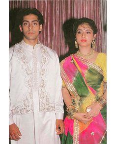 Bollywood Couples, Bollywood Actors, Indian Actresses, Actors & Actresses, Salman Khan Photo, Sajid Khan, Vintage Bollywood, Madhuri Dixit, Handsome Actors