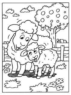 Farm Coloring Pages Coloring Pages Of Lego Joker Farm Animal Coloring Pages, Colouring Pages, Coloring Sheets, Adult Coloring, Coloring Books, Art Drawings For Kids, Drawing For Kids, Easy Drawings, Art For Kids