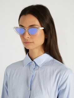 X Adam Selman The Last Lolita sunglasses | Le Specs | MATCHESFASHION.COM US
