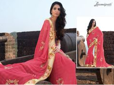 Chiffon Saree, Daily Wear, Bridal Collection, Kurti, Latest Fashion, Special Occasion, Formal, Casual, Pink
