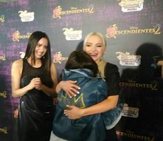 | Dove Cameron with a fans.