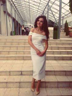 Prom dress off the shoulder zara