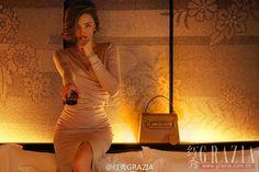 Miranda Kerr by Chen Man for Grazia China April 2016