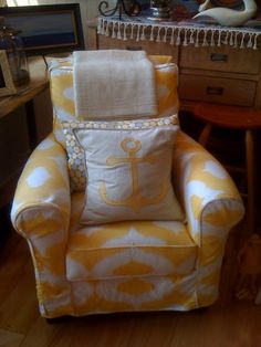 @Katie Mixon -- made me think of your yellow nursery chair