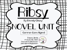 Ready-to-go, easy-to-use Comprehension Packet for Ribsy by